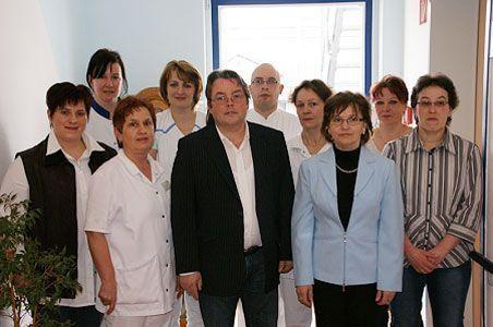 Ein Teil vom Team des Pflegezentrum Panorama Berkatal GmbH